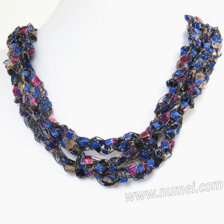 Handmade Ribbon Necklace EG134120