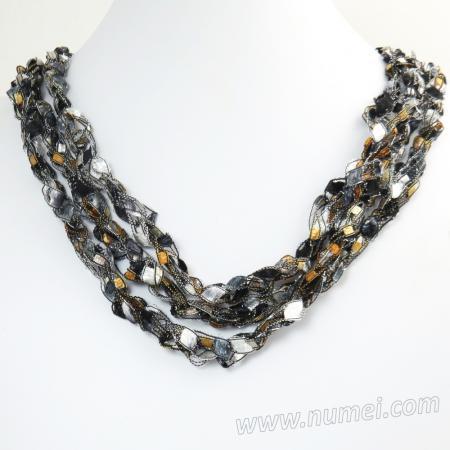 Handmade Ribbon Necklace EG7066