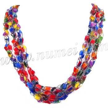 Handmade Ribbon Necklace ET1240