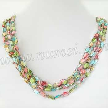 Handmade Ribbon Necklace ET1280