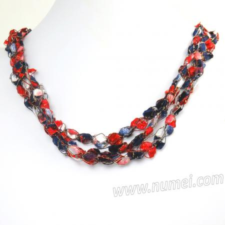 Handmade Ribbon Necklace ET9200