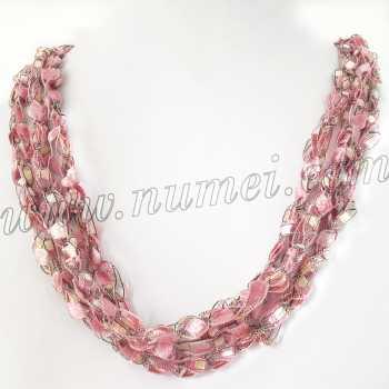 Handmade Ribbon Necklace MG10364