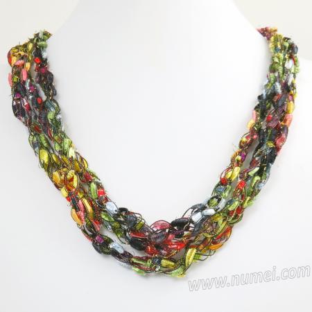 Handmade Ribbon Necklace MG93118