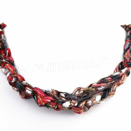 Handmade Ribbon Necklace QM1670