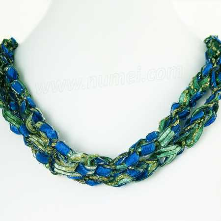 Handmade Ribbon Necklace QM68120