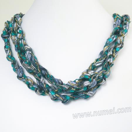 Handmade Ribbon Necklace QR99115