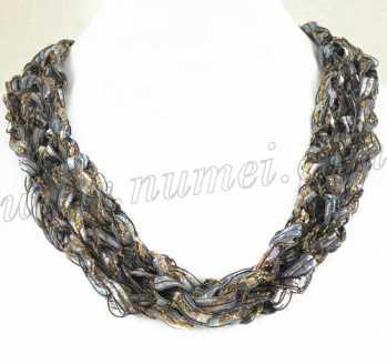 Handmade Ribbon Necklace BL4