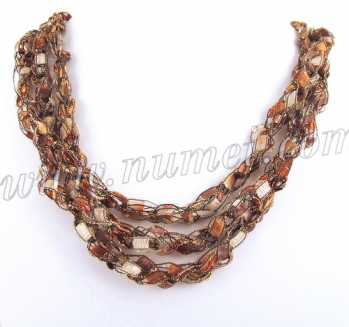 Handmade Ribbon Necklace EG7676
