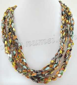 Handmade Ribbon Necklace ME69829