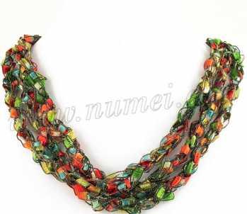Handmade Ribbon Necklace MG4068