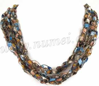 Handmade Ribbon Necklace MG6082