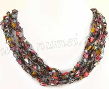 Handmade Ribbon Necklace MG6365