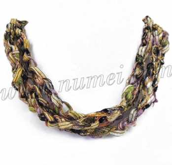 Handmade Ribbon Necklace QG64107