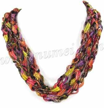 Handmade Ribbon Necklace QR6778