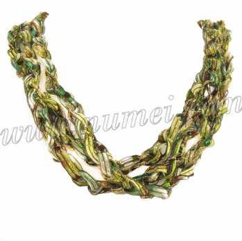 Handmade Ribbon Necklace QR69106