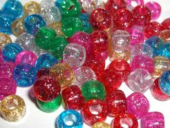 Assorted Pony Beads - Bag of 30 beads