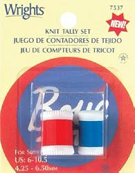 Boye Knit Tally / Row Counter 2-pc Set