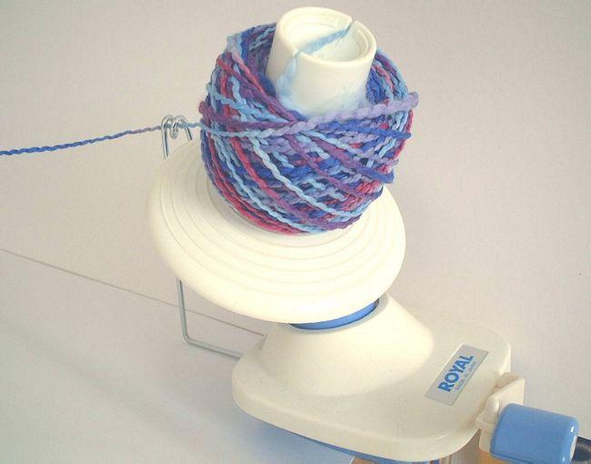 Wind yarn
