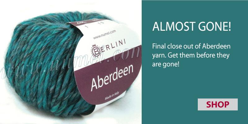 Aberdeen lofty single ply wool yarn
