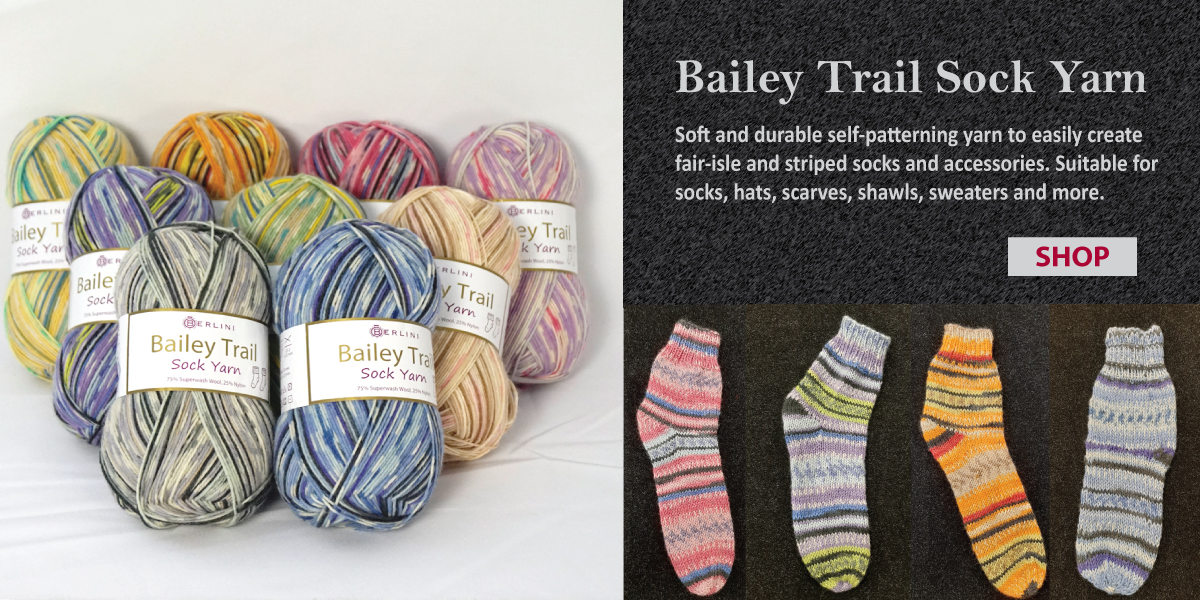 Bailey Trail Sock Yarn