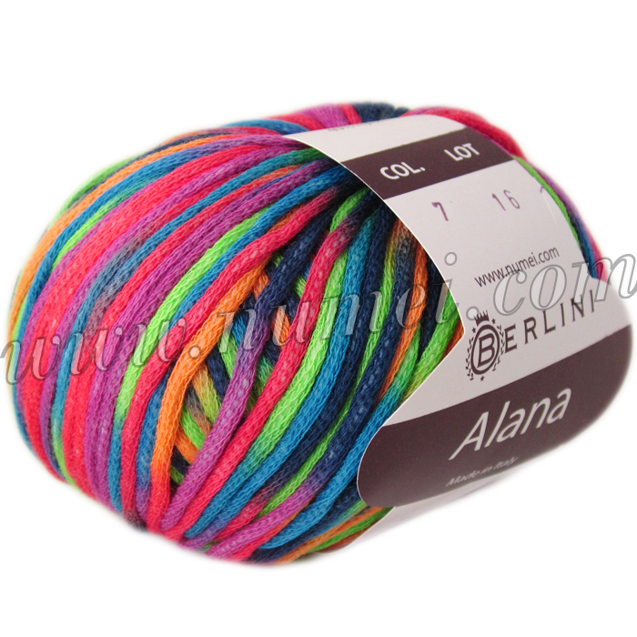 Berlini Alana Colorful Cotton Yarn