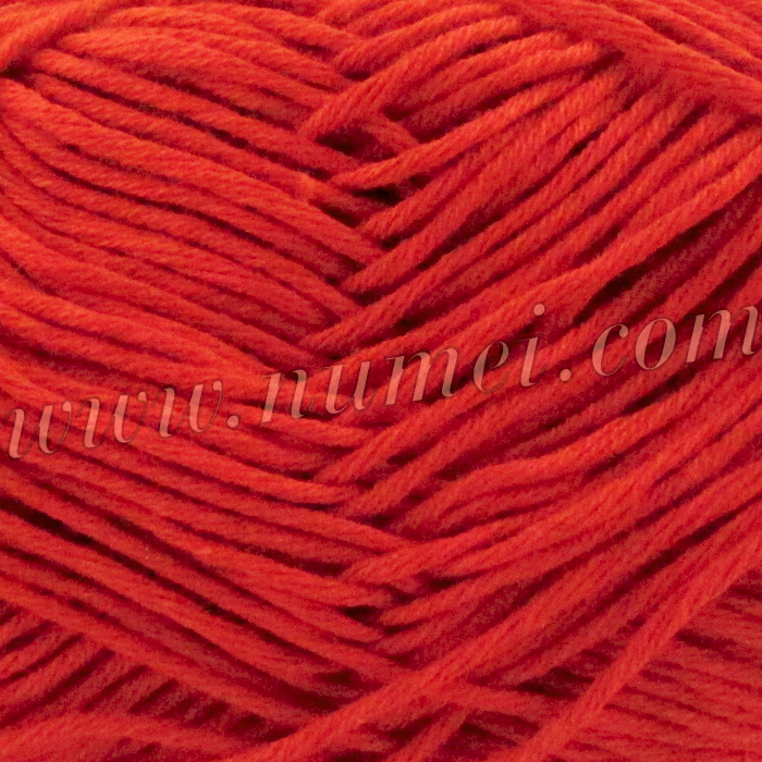 Silver Swan Cotton Spa Worsted 10 Cherry Tomato