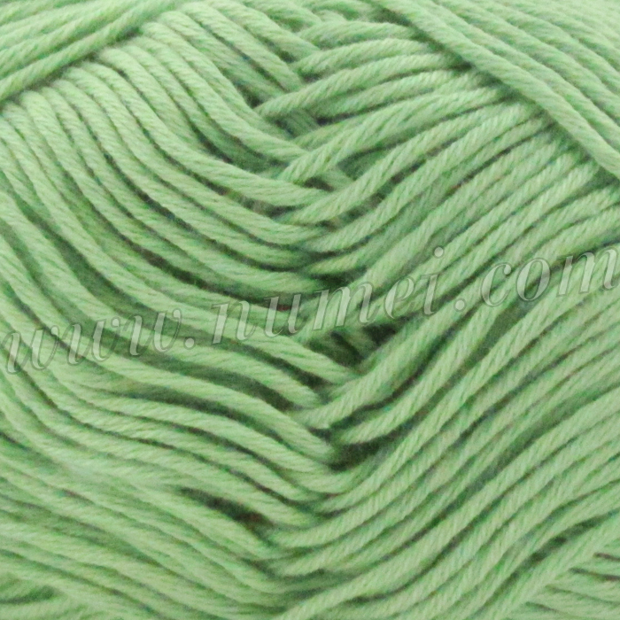 Silver Swan Cotton Spa Worsted 14 Quiet Green