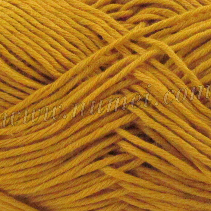 Silver Swan Cotton Spa Worsted 5 Mineral Yellow