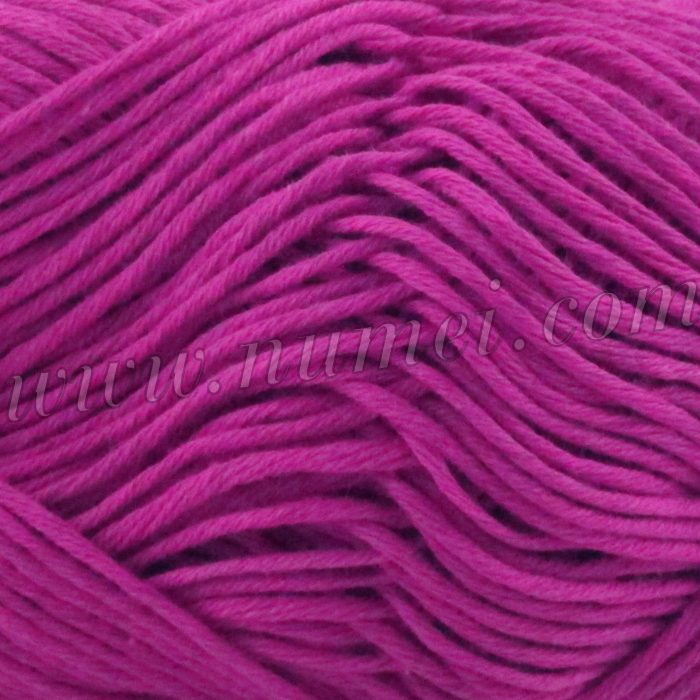 Silver Swan Cotton Spa Worsted 6 Very Berry