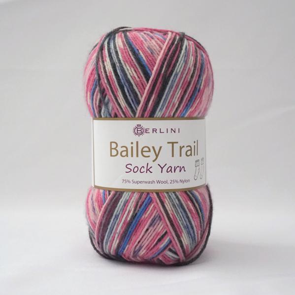 Berlini Bailey Trail Sock Yarn 503 Heartfelt