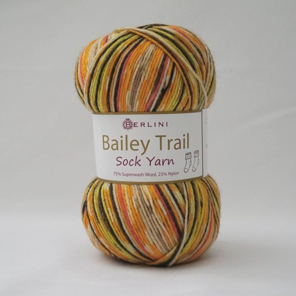 Berlini Bailey Trail Sock Yarn 504 Fiesta