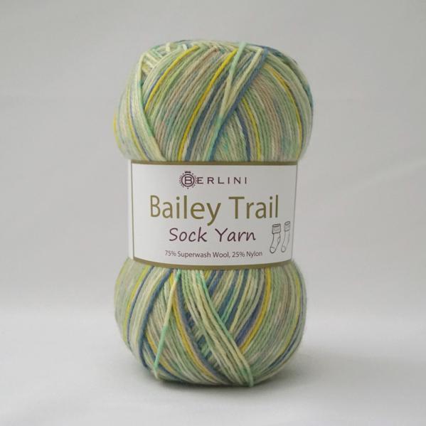 Berlini Bailey Trail Sock Yarn 505 Meadow