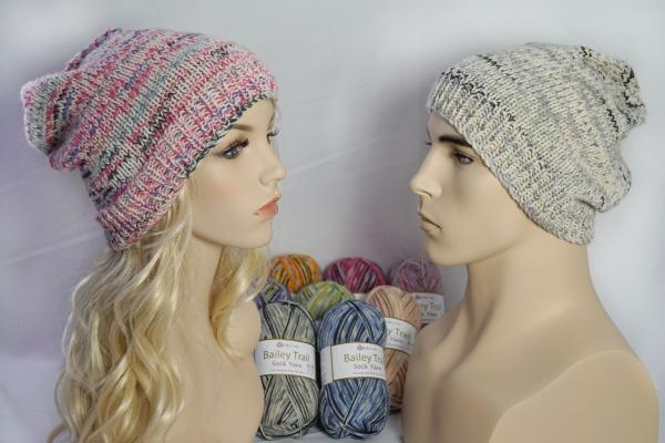 Knitting Pattern: Whistler Slouchy Hat