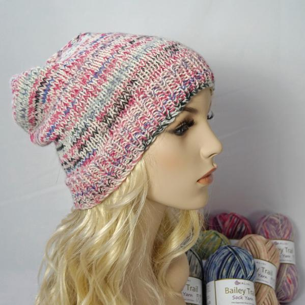 Knitting Pattern: Whistler Slouchy Hat