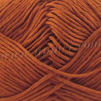 Silver Swan Cotton Spa Worsted 17 Leather Brown