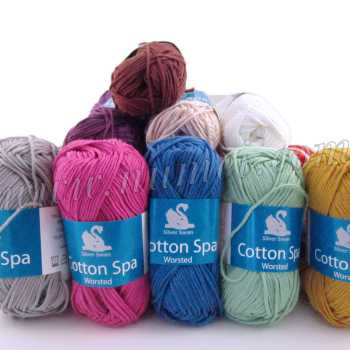 Cotton Spa Worsted Cotton Bamboo Yarn