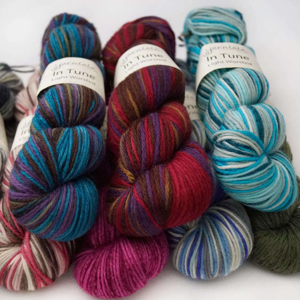 Yarnlala In Tune Lt Worsted Wool Yarn
