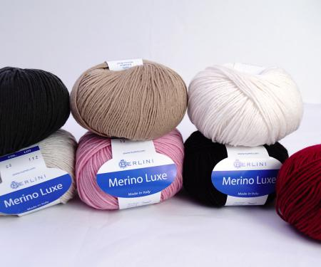 Berlini Merino Luxe merino wool yarn