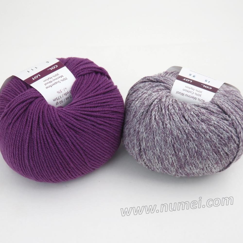 Berlini Palisades 15/Merino Butter 6 Combo Pack - Dusty Purple/Grape