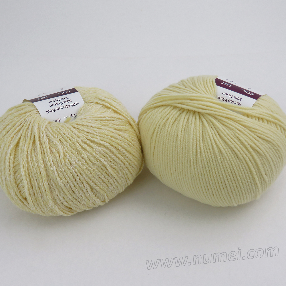 Berlini Palisades 9/Merino Butter 3 Combo Pack - Light Yelow