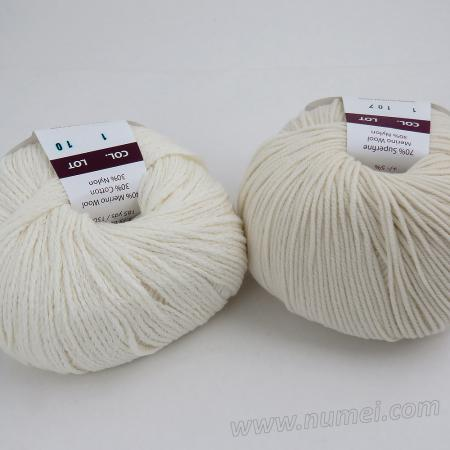 Berlini Palisades 1/Merino Butter 1 Combo Pack - White