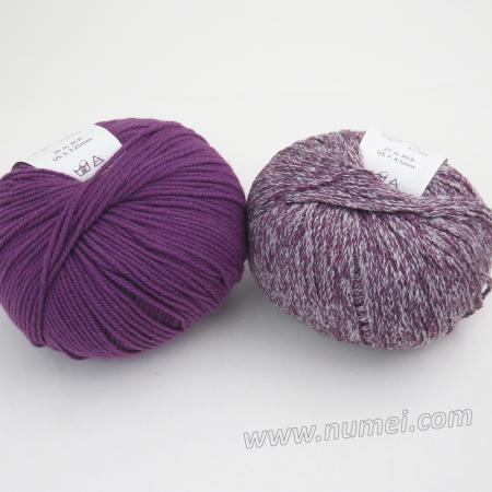 Berlini Palisades 10/Merino Butter 6 Combo Pack - Amethyst/Grape