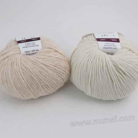 Berlini Palisades 14/Merino Butter 1 Combo Pack - Natural/White