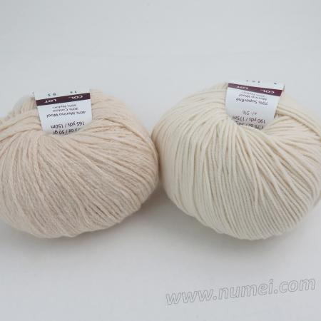 Berlini Palisades 14/Merino Butter 2 Combo Pack - Natural/Ivory