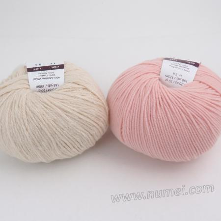 Berlini Palisades 14/Merino Butter 4 Combo Pack - Natural/Soft Pink