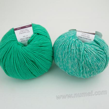 Berlini Palisades 2/Merino Butter 11 Combo Pack - Brilliant Green/Mint