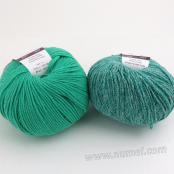 Berlini Palisades 16/Merino Butter 11 Combo Pack - Emerald/Mint Leaf