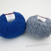 Berlini Palisades 8/Merino Butter 8 Combo Pack - Denim/Blue Velvet