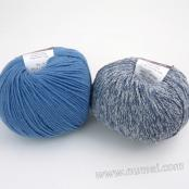 Berlini Palisades 8/Merino Butter 9 Combo Pack - Denim/Lake Blue