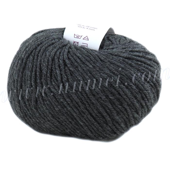 Berlini Merino Velvet DK O1 Oxford Grey